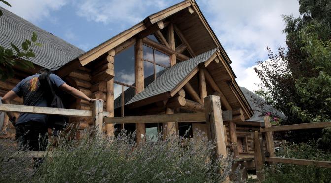 Casa Canada, da attrazione di Torino 2006 a Rifugio alpino