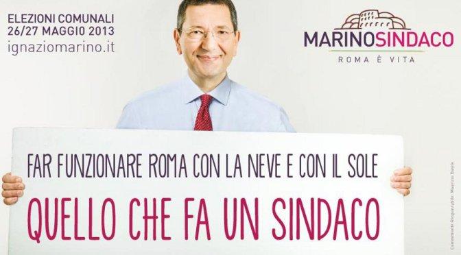 #MarinoResisti: tutti gli hashtag del sindaco! La gente da che parte sta?
