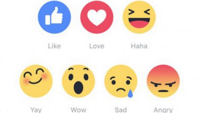 Cosa guadagna Facebook introducendo le faccine oltre il like (reaction)?