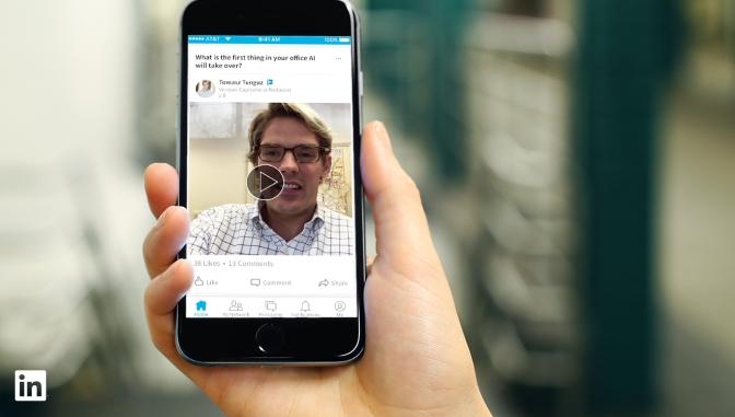 Via libera ai video su LinkedIn, ecco come sfruttarli al meglio