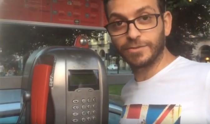 Ecco come inviare una mail da una cabina telefonica