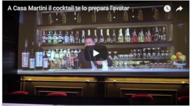 A Casa Martini il cocktail te lo prepara l'avatar