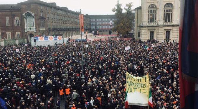 A chi andranno i 40.000 voti della piazza di Torino?