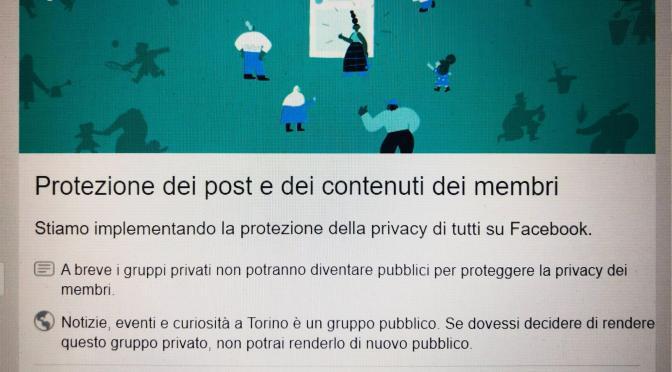 Facebook, in arrivo una novità sulla privacy dei gruppi