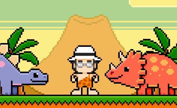 Albano diventa un videogioco e uccide i dinosauri